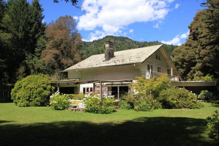 Casa patronal del Fundo Magallanes