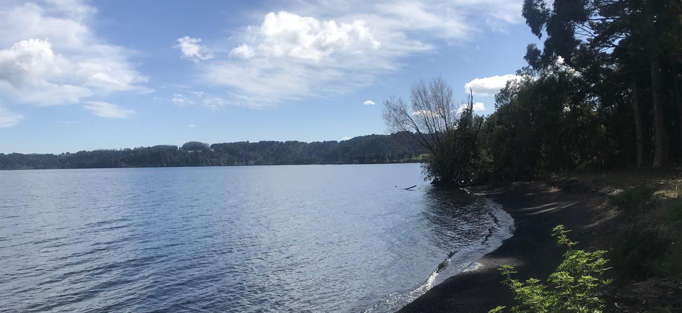 Propiedad con playa y orilla del lago Llanquihue
