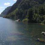 Ribera del lago Colico en la propiedad